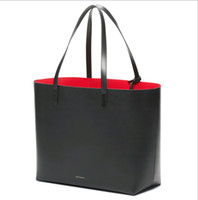 synthetic leather tote - Mansur Gavriel Famous Designer Brand Bags Women Tote Large Bucket Luxury With Purses and Handbags Shopping hand Mansur bag