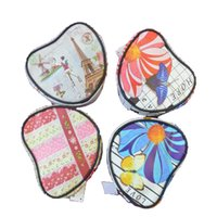 Wholesale Heart Shape Makeup Case Cosmetic Bag Lady Purse Bags Women s Purse Zip Wash Organizer Toiletry Pouch kind of Styles