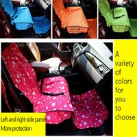 Wholesale Pet Dog Cat Car Mat Waterproof Print Pvc Car Covers Perros Blanket Cushion Pad For Animals Dog Bed Lounger For Dogs Casa