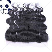 Cheap Brazilian Human Hair 13x4'' Body Wave Wavy Silk Base Lace Frontal Closure With Baby Hair 4*4 Silk Top Full Lace Frontals