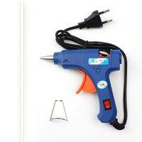 Wholesale Car Windshied Repair Kit of Car Windowsl High Temp W Melt Glue Gun Repair Heater Tools EU Plug With pc Glue Stick Door Seal