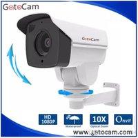 Wholesale 10x Auto Zoom Auto Iris mm lens MP IP Bullet PTZ Camera Mini Size
