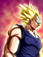 anime manga art - B107 Vegeta Dragon Ball Anime Manga Art Silk Poster x36inch