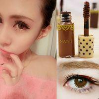 Cheap Wholesale-Angel Mask Stylenanda Brown Natural Mini Eyebrow Dye Cream Makeup Brush Waterproof Durable 3 Colors Eyebrow Enhancers Gel M01538