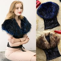 Wholesale 2016 new high grade belt Imitation fur leather vest Maomao turf vest vest PU coat