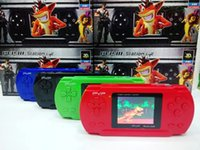 Wholesale Newest PVP POCKET inch Handheld Game Player pvp TV Out bit inch screen Pocket Handheld Video Game Player Console Games