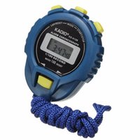 Wholesale Fabulous LCD Chronograph Digital Timer Stopwatch Sport Counter Odometer Watch Alarm