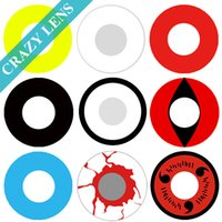 big red hearts - Special Promotion OFF Color contact lenses Crazy lens for Cosplay and Halloween
