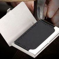 Wholesale Brand New Professional Business Card Holder Business Card Case Aluminum Alloy Card Holder FG16472