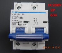 Wholesale pieces P A DC250V MCB Solar energy photovoltaic pv solar DC Circuit Breaker