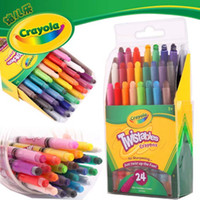 Wholesale Crayola Twistables Crayons No Sharpening Just Twist UP the Fun Colors Nontoxic coloring books for kids A19
