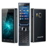 dual sim phone smart phone - Vkworld T2 G Smart Phone Inch IPS Screen G RAM G ROM MTK6580 Quad Core Android5 Filp Cell Phone