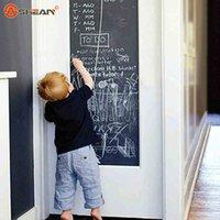 Wholesale 45x200cm Chalkboard Blackboard Stickers Removable Vinyl Draw Erasable Blackboard Learning Multifunction Office Supplies