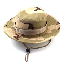 Wholesale Unisex Outdoor Sport Fishing Hiking Accessories Airsoft Sniper Military Jungle Neutral Tactical Camouflage Hats Cap Color