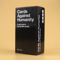 ab cards - Immediate Delivery Against Humanity Cards CA Basic Edition Cards educational toys Against Game AB