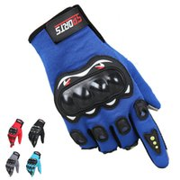 Wholesale Outdoor Riding Racing Gloves Non slip Motorcycle Gloves all off road Locomotive Touch screen Knight Riding Gloves Free Size