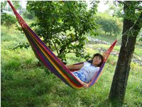 Wholesale New design easy hold light nice Outdoor hammocks