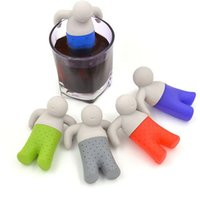 Wholesale Silicone little tea lazy tea strainer tea bag creative tea strainer