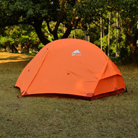 Wholesale 3F UL GEAR Outdoor Ultralight Camping Tent T PU Coating mm Waterproof Tents Season Person Summer Tent For MSR Hubba