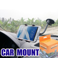 Rechargeable arm pda - UPDATE VERSION Car Mount Long Arm Universal Windshield Dashboard Cell Phone Car Holder with Strong Suction Cup and X Clamp for iPhone s