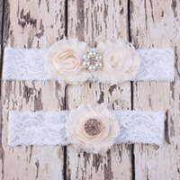 band western - New Fashion Rhinestone Lace Headbands Pearl Floral Hair Bands Princess Western Party Hair Accessories Monther baby