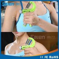 Wholesale 2016 Best forearm exercises hand strengthening exercise simulator for hands Plastic Anti skidding Spring Durable hand grip