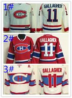 Canadiens LNH enfants maillots 2016 de chandails de hockey à bas prix de la jeunesse de Montréal GALLAGHER # 11 Galchenyuk # 27 PRIX # 31 SUBBAN # 76 1pcs freeshipping