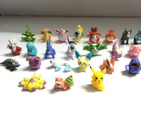 Wholesale Poke Figures Toys cm Pikachu Charizard Eevee Bulbasaur Suicune PVC Mini Model Toys For Children