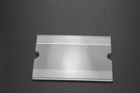 acrylic wall holder - 9 cm mm acrylic label sign tag price display rack shelf wall desk adhesive label price sign holder frame label frame