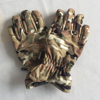 baseball gloves sizes - Free size camo warm winter outdoor fishing climbing skiing tactical hunting gloves