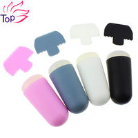Wholesale Color cm Length Nail Art Stamping Plates Stamper Scraper Kits Diy Stamp Tools Of Polish Stencils For Nails JH277