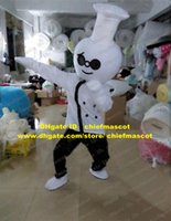 bakers shoes - Vivid White Cook Chef Kitchener Baker Mascot Costume Cartoon Character Mascotte White Unifrom Shoes Black Pants No Free Sh