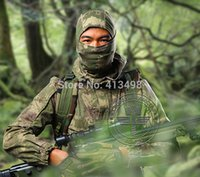 Wholesale Chiefs Men s Military BDU Tactical Combat Hunting T Shirt amp Pant Outer camouflage CS training uniform suits