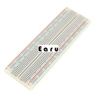 Wholesale White Solderless Prototype Tie Points Breadboard x55mm for Arduino