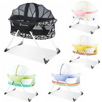 Wholesale babysing super light foldable baby bed baby crib easy carry foldable bed bassinet for newborn baby month