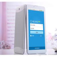 Dual sim android 16gb Prix-HOT 7 pouces Dual SIM 3G MTK6572 Quad Core 1 Go de RAM 16 Go ROM Bluetooth GPS phablet téléphone appeler 30pcs Tablet Pc / lot