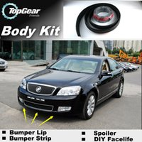 avenue skirts - Bumper Lip Lips Front Skirt Deflector Spoiler For Car Tuning The Stig Recommend Body Kit Strip For Buick Park Avenue