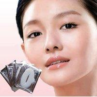 Wholesale 2016 New Arrival Moisture Lip Masks Crystal Collagen Nano Gold Lip Mask Downplay Corneous Moisturizing Anti Aging Anti Wrinkle Lips Mask