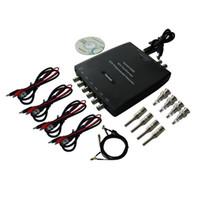 al por mayor usb de diagnóstico de pc-probador del vehículo mayor-1008C Hantek 8CH PC USB Automotive Programa de adquisición de datos del osciloscopio digital de diagnóstico Generador 8CH 2.4MSa / s