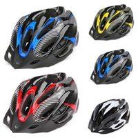 Wholesale 1xProfessional Road Bike Bicycle Cycling Safety Helmet Hat Cap EPS PC material Ultralight Breathable MTB Cycling Helmet