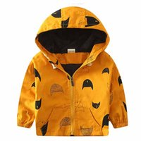 baby bomber jackets - Hooded Children s Jackets M Y Kids Coats Boys Bomber Jacket Spring Autumn Baby Boys Windbreaker Boys Outerwears
