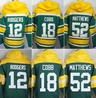 bay blue - Packers hoodies cheap football jerseys hoody sweatshirts Green Bay RODGERS MATTHEWS COBB NELSON LACK freeshipping