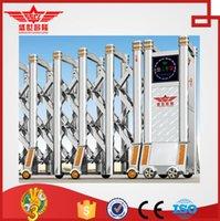 auto sliding gates - Telescopic stainless steel auto sliding gate J1512