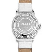 Wholesale MEGIR Brand New Luxury Watches Women Calender Ladies Women Watch Leather Sapphire Quartz Wristwatch Clock Hour Reloj Mujer