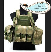 Wholesale Tactical Molle Combat Carrier CIRAS HEAVY DUTY ARMOR Nylon Vest FG Camo