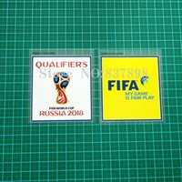 Wholesale Russia World Cup Qualifiers Patch pair