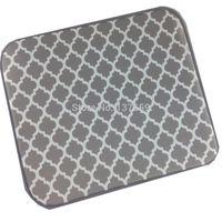 bamboo dish mat - cmx46cm Convenient microfiber dish drainer drying mat made in china