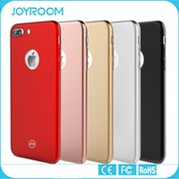 apple accessories red - JOYROOM iphone7 Ultra Slim Full Cover Plated hard PC Phone Case Phone Accessories For Iphone plus