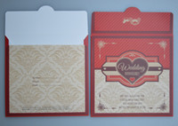 Wholesale Coffee brown wedding party paper cd envelopes wedding cd dvd case sleeve