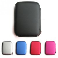 Wholesale Classic Hard Carry Case Cover Pouch for inch Power Bank HDD Hard Disk Drive Protect Protector Bag Enclosure Case